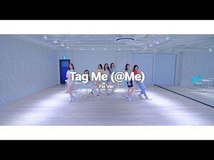 Weeekly(위클리) - Tag Me (@Me) Choreography Video (Fix Ver