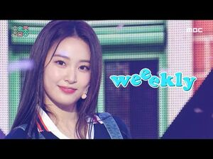 -쇼! 음악중심- 위클리 -위클리 데이 + 태그 미 (Weeekly -Weeekly Day + Tag Me(@Me) ) 20200704