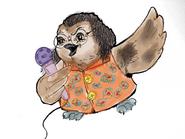 Owl singing