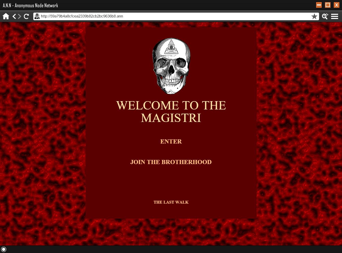 THE MAGISTRI