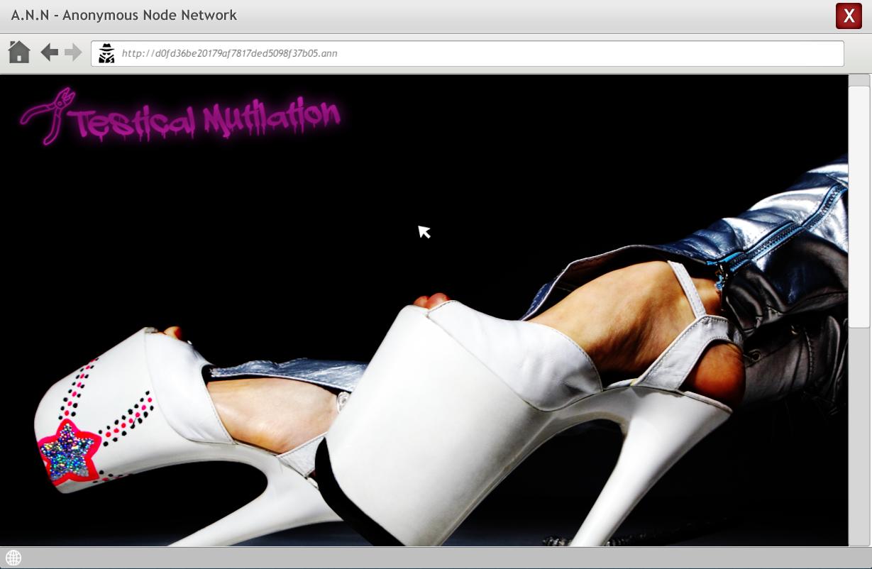 Testical Mutilation