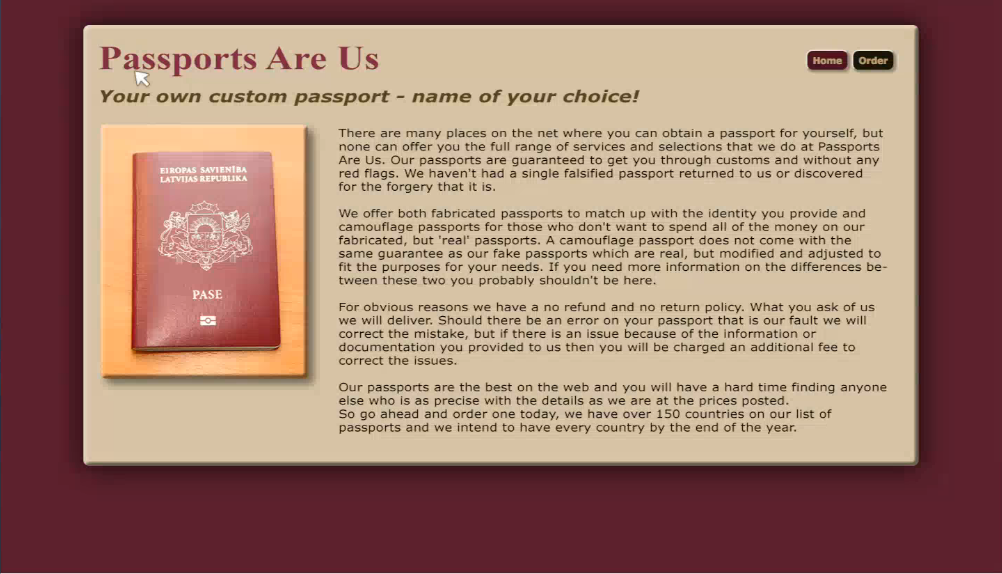 Passports R Us