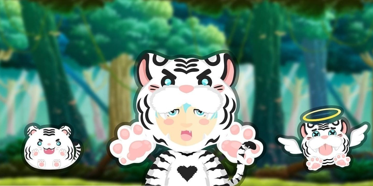 Tiger SK Outfit (Gems quest)