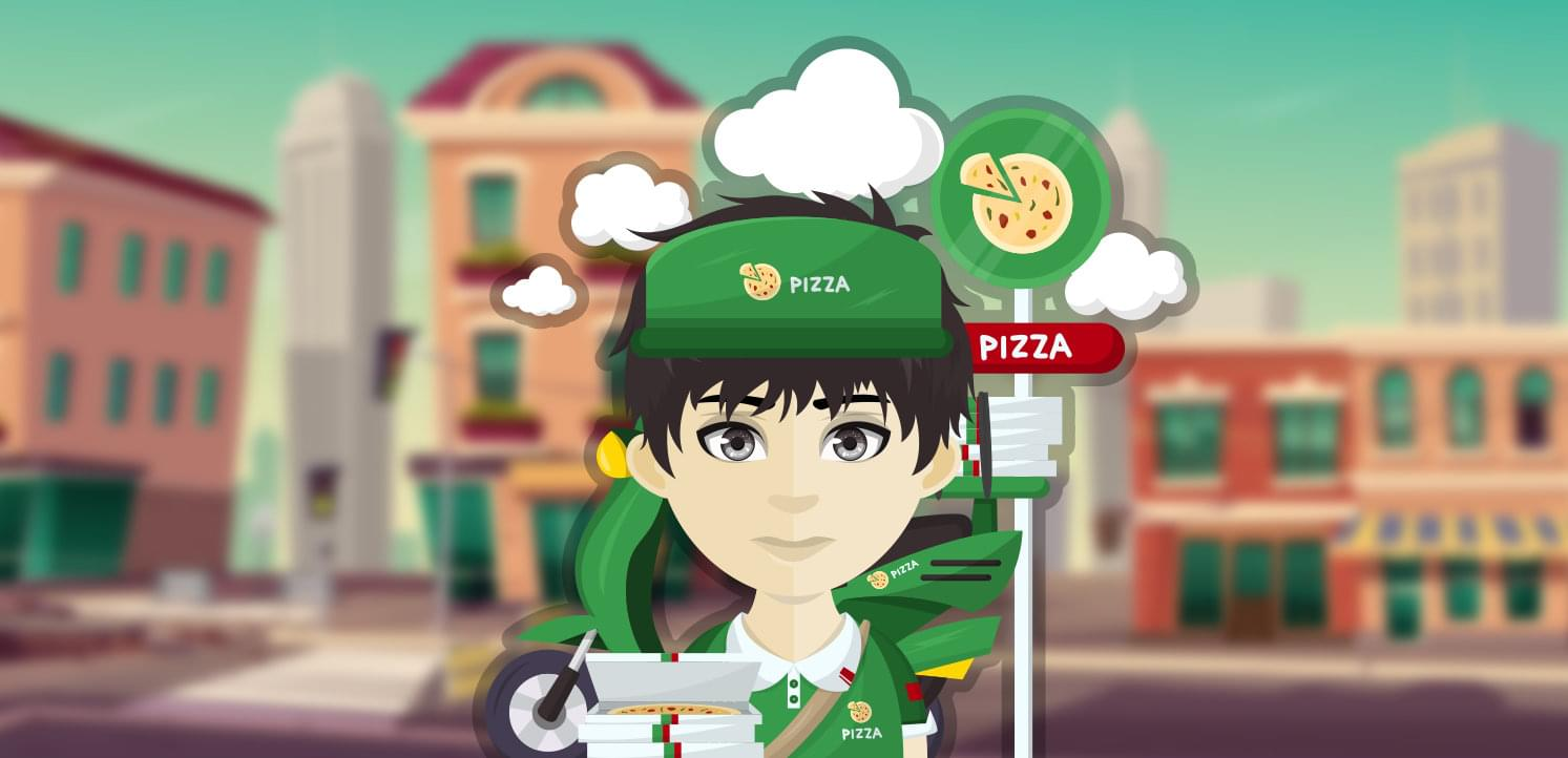 Pizzaman Outfit