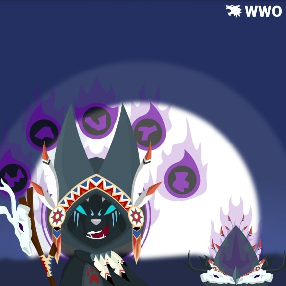 Wolf Shaman Outfit