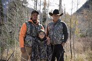 Yellowstone - Stills - Characters - Kayce Dutton - Tate Dutton - John Dutton