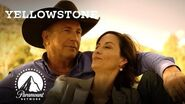 Governor Perry Enjoys a Sunset w John Dutton Yellowstone Paramount Network