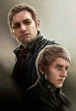 Tytos en Tywin Lannister - Magali Villeneuve.jpg