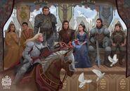 Ukoronowanie Lyanny w Harrenhal