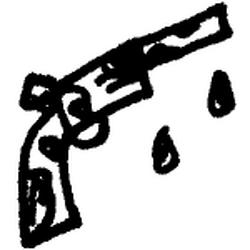 Befouled pistol