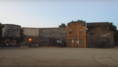 Sweetwater set workshops and storage