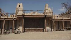 Fort forlorn hope set courtyard gatehouse