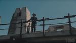 Fort forlorn hope officer on walkway