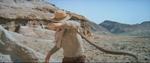 Westworld 1973 rattlesnake attack