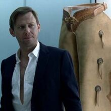 William changing clothes in Chestnut at Hub.jpg