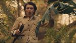 The Raj Emily fleeing with shotgun
