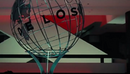 Delos globe bright colours
