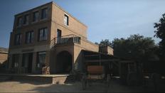 Sweetwater set brick building