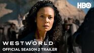 Westworld Season 2 Official Trailer HBO-0