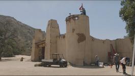 Fort forlorn hope set walls
