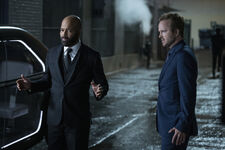 The Mother of Exiles — Jeffrey Wright, Aaron Paul