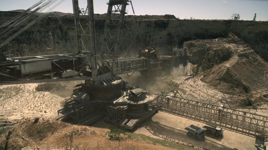 Bagger 293 bucket-wheel excavator