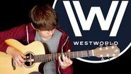 Westworld Main Theme (HBO) Fingerstyle Guitar Cover by Eddie van der Meer