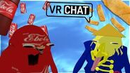 -VRChat- EGG ROLL MEETS EBOLA COLA MEME + LIGHTS OUT TROLLING! (HILARIOUS!)