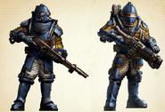 Solar Auxilia Soldiers