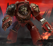 Bloodmoon Hunters Concept wh40k DOW2R Terminator