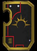 Gold Templars Livery Shield