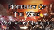 Homebrew Of The Week - Episode 178 - Craftworld Nacretinei