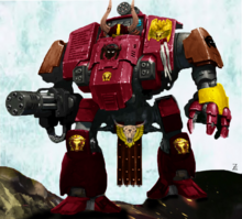 Bulls of Retribution Redemptor Dreadnought