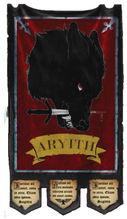 Knights Aryith Chapter Banner