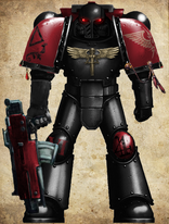Sanguine Templars Tactical Marine