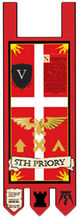 5th Priory Banner