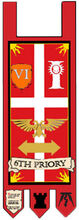 6th Priory Banner