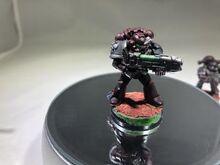 Bloodmoon Hunter Veteran Model with Plasma Gun