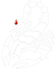 Stylised Scorpion Icon 3.png