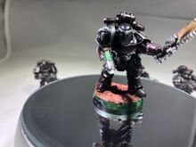 Bloodmoon Hunter Vet Sgt Model Plasma Pistol