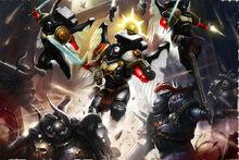 Broken Wings Seraphim Battle