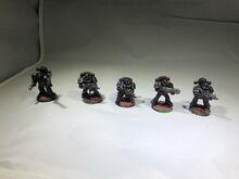 Bloodmoon Hunter Veteran Squad Models