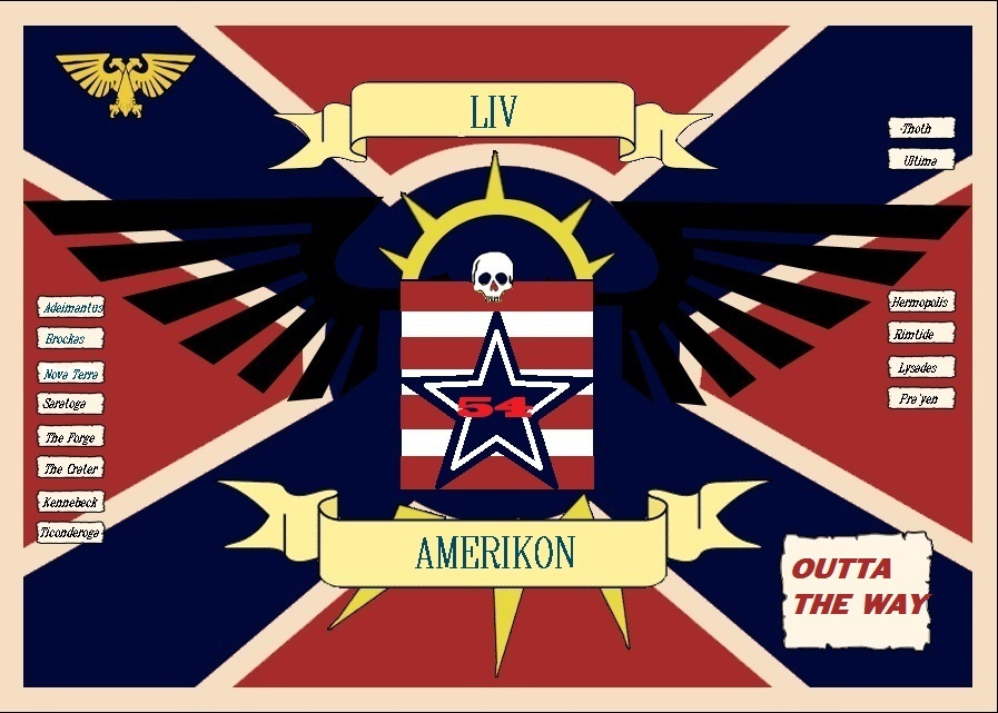 54th Amerikon Regiment