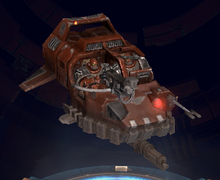 Bloodmoon Hunters Concept wh40k DOW3 Landspeeder