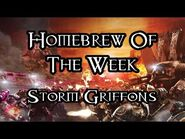 Homebrew Of The Week - Episode 229 - Storm Griffons
