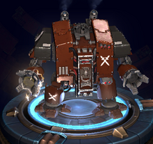 Bloodmoon Hunters Concept wh40k DOW3 Dreadnought