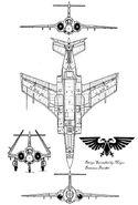 Nyotan Slam Jet Blueprint
