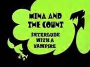 Mina and the Count - Interlude With a Vampire