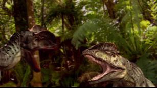 Dilophosaurus fighting.png