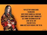 Lyin 2 ya - Billie Eilish (Lyrics)